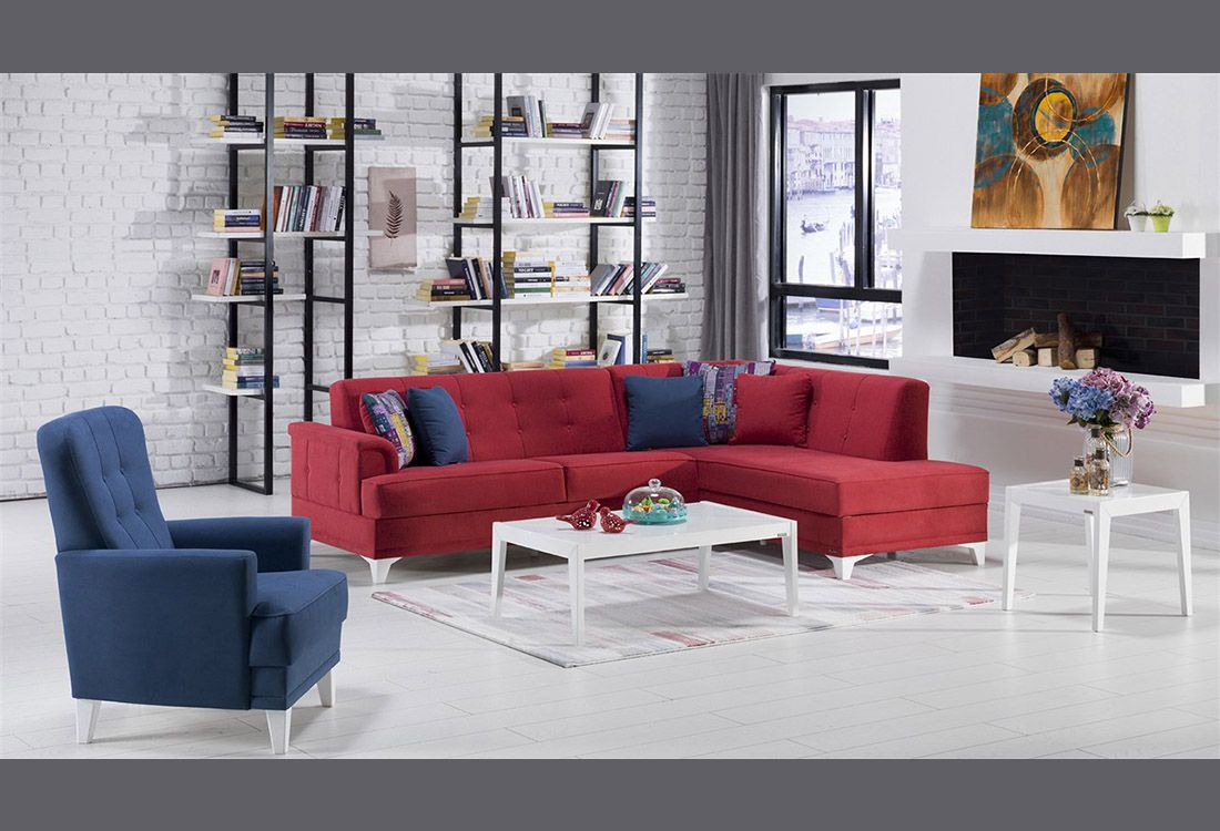 Γωνιακός καναπές Cantona