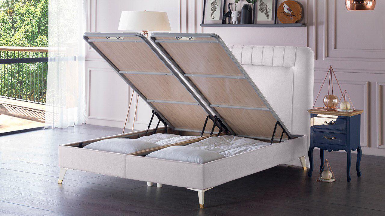 Κρεβάτι με αποθηκευτικό χώρο Liva