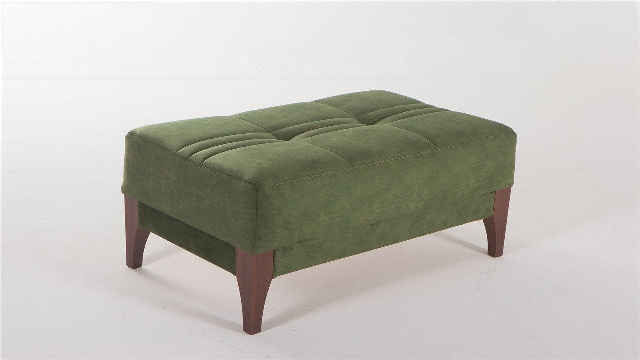 Πουφ Karlena (πράσινο)