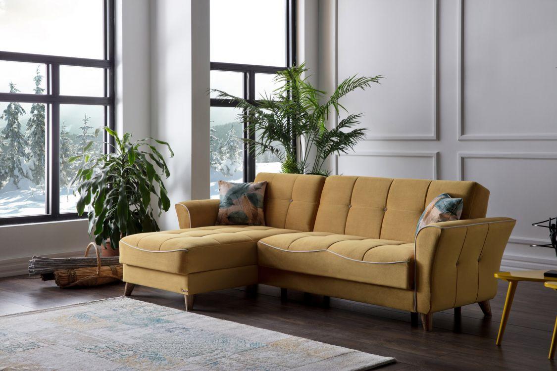 Γωνιακός καναπές Omega