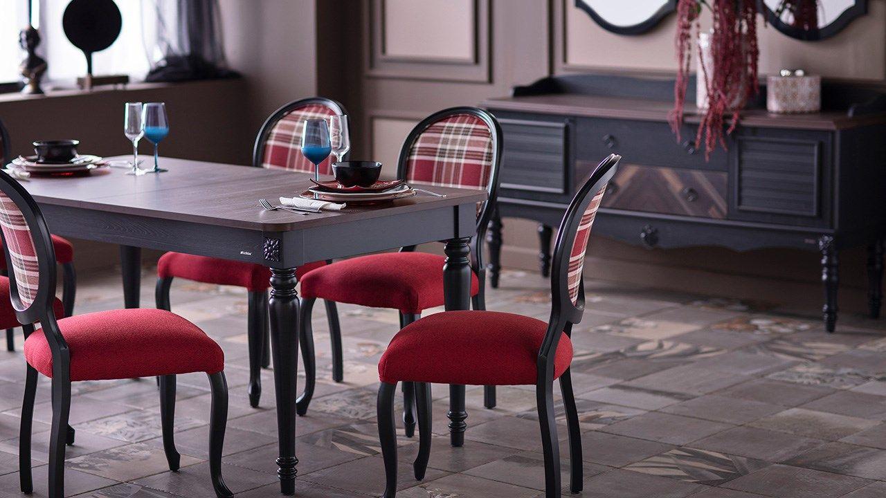 Καρέκλα Pery Lacivert (χαμηλή πλάτη)