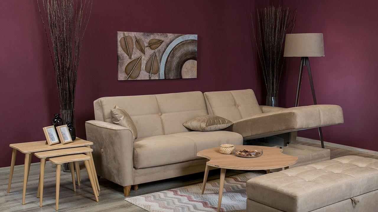 Καναπές γωνία Sole