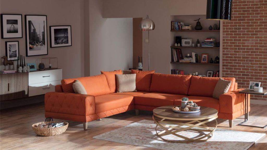 Γωνιακός καναπές Lantes