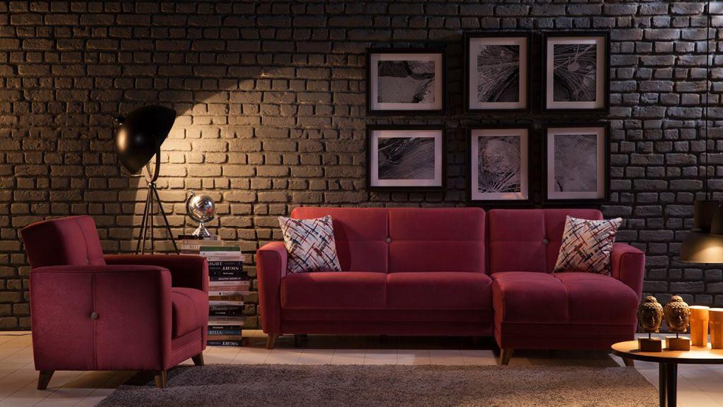 Γωνιακός καναπές Sole